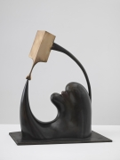 D.P.D. (Dependent Personality Disorder), 2014. Bronze, 14 3/4 x 13 x 8 5/8 inches (37.5 x 33 x 21.9 cm).