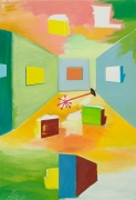 Untitled, 1985-87. Oil on canvas, 74 3/4 x 51 3/8 in (189.9 x 130.5 cm). MP 13