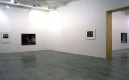 """Paint, Wall, Pictures: Something Always Follows Something Else She Wasn't Always a Statue,"" installation view, 1997. Metro Pictures, New York."