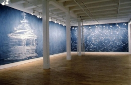 Installation view, 1996. Metro Pictures, New York.