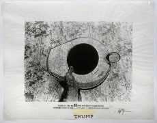Verbiage Urns, Verbiage Urn_no. 74, DG Krueger, embellished screenprints