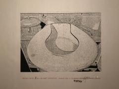 Verbiage Urns, Verbiage Urn_no. 1, DG Krueger, embellished screenprints