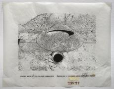 Verbiage Urns, Verbiage Urn_no. 6, DG Krueger, embellished screenprints