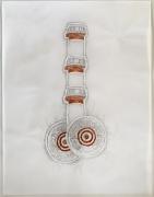 DG Krueger, Conversational Tools, drawings, ink on vellum, pharmas and bullets