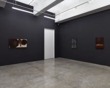 Installation View of Solo Exhibition by Tomie Ohtake. Image by Jeremy Haik.