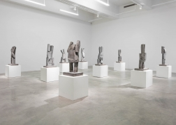 Installation view of Dwarf, Dust, Doubt by Gimhongsok. Image by Jeremy Haik.
