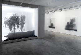 Installation View of There is No Place by Kibong Rhee. Image by Jeremy Haik.