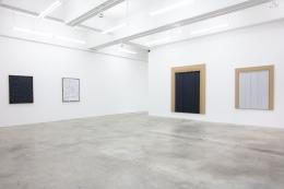 Installation view of Conjunction by Ha Chong-Hyun at Tina Kim Gallery, 2018