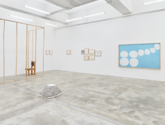 Installation View of Two Hours by Bahc Yiso, Chung Seoyoung, Kim Beom. Image by Jeremy Haik.