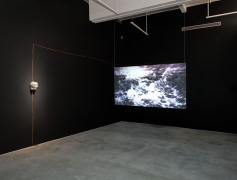Installation View of Solo Exhibition by Park Chan-Kyong. Image by Jeremy Haik.