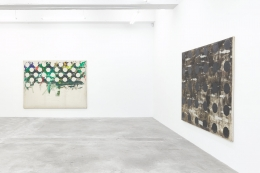 Installation View of Solo Exhibition by Kim Yong-Ik. Image by Jeremy Haik.