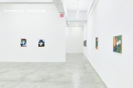 Installation View of Solo Exhibition by Wook-Kyung Choi. Image by Jeremy Haik.