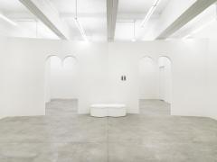 Installation view of Davide Balliano's solo exhibition at Tina Kim Gallery. Image byDario Lasagni.