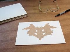Luis Camnitzer; Rorschach Series, Rorschach 1 (2012)