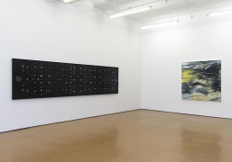 Jack Whitten Installation view, Alexander Gray Associates (2013)
