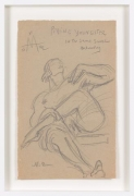 Untitled (1942) Graphite on paper