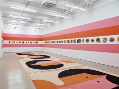 Polly Apfelbaum: The Potential of Women, installation view, Alexander Gray Associates (2017)