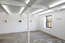 Betty Parsons:1950s Works on Paper, Installation view