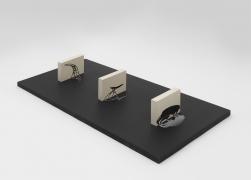 Model for Reflexus(Museu de Arte Moderna, São Paulo, Brazil), 1985