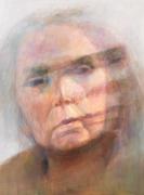 Self-Portrait #4, 2010, Oil On Canvas