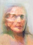 Self-Portrait #2, 2010, Oil On Canvas
