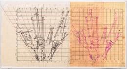 Working drawing for Desaparencia (Estudio) 2, 1999