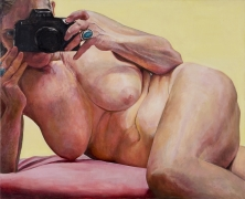 Pink Cushion, 2004, Oil On Canvas