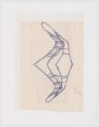 Preparatory drawing for Reflexus(Museu de Arte Moderna, São Paulo, Brazil), 1985