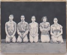Akin:True but Dour, 2005, Oil on linen