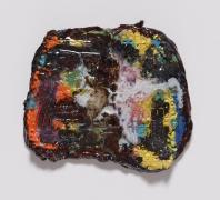 Begonia, 2015, White clay and glaze
