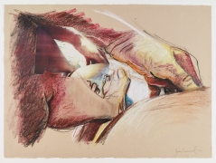 Untitled, 1978, Oil crayon and collage on paper