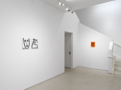 Kay Rosen: Stirring Wirds,installation view, Alexander Gray Associates (2018)