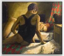 Black Tank, 1988, Oil on canvas