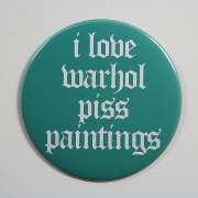 I Love Warhol Piss Paintings (2006)