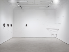 Melvin Edwards: In Oklahoma, installation view, Alexander Gray Associates (2017)