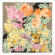 """Autumn Garden, from the """"Florals"""" series [025], c. 1983, Watercolor On Paper"""