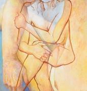 Double Embrace, 2016, Oil on canvas