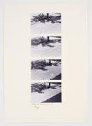 Shadows of Al Loz, 1983, Photographs on paperboard in 4 parts