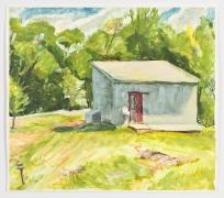 Study I, 1991, Oil on gessoed paper