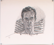 Self Portrait, 1981, Graphite on paper