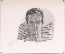 Self Portrait, 1981, Graphite on paper