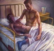 Hugh Steers, Hospital Bed (1993)