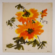 "Untitled, from the ""Florals"" series [054], n.d., Watercolor On Paper"