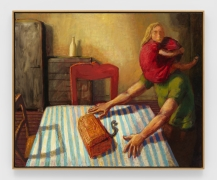 Gold Box, 1988, Oil on canvas