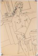 Untitled I, 1977, Ink on Vellum