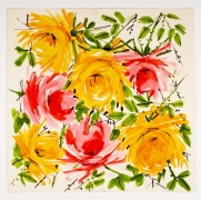 "Untitled, from the ""Florals"" series [051], n.d., Watercolor On Paper"