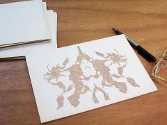 Luis Camnitzer; Rorschach Series, Rorschach 10 (2012)
