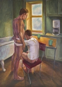 Mr. Coffee, 1993, Oil on canvas