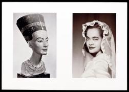 Miscegenated Family Album (Sisters I), L: Nefernefruaten Nefertiti; R: Devonia Evangeline O'Grady (1980/1994)