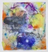 Saturation #7, 2011, Mixed Media On Paper